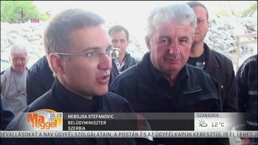 Nebojsta Stefanovic, belügyminiszter, Szerbia