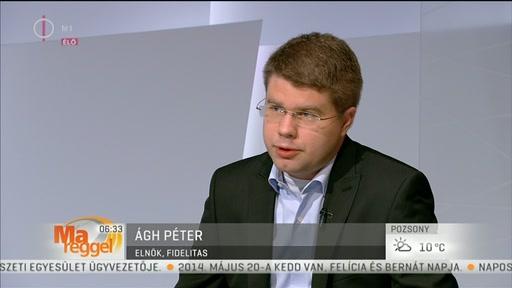 Ágh Péter, elnök, Fidelitas