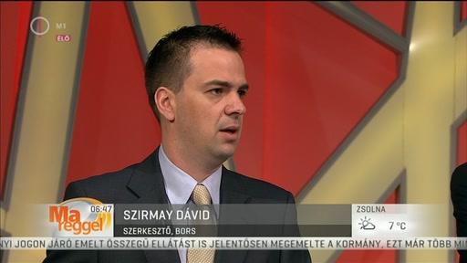Szirmay Dávid, szerkesztő, Bors