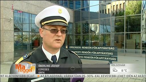 Óberling József, ezredes, ORFK