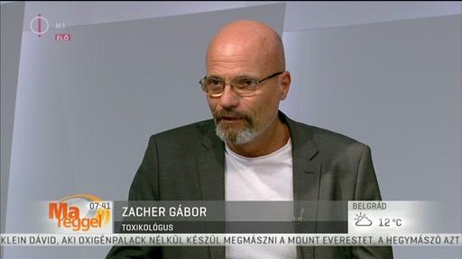 Dr. Zacher Gábor, toxikológus