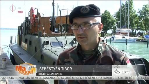 Sebestyén Tibor, hajóparancsnok