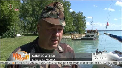 Csurgó Attila, ezredes, parancsnok