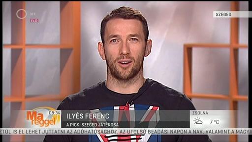 Ilyés Ferenc, játékos, Pick-Szeged