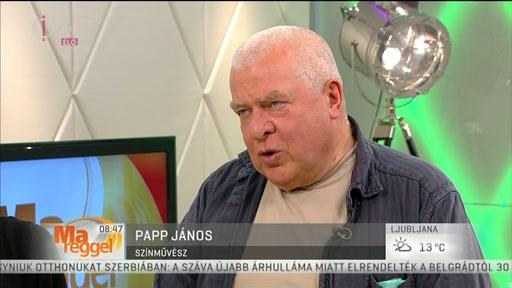 Papp János, színművész