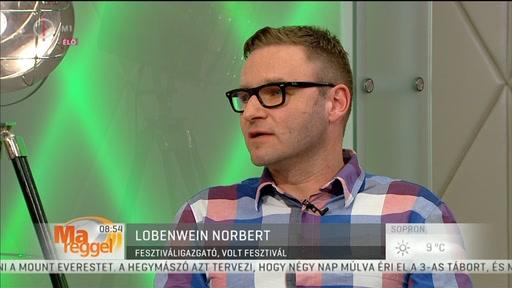 Lobenwein Norbert, fesztiváligazgató, Volt Fesztivál