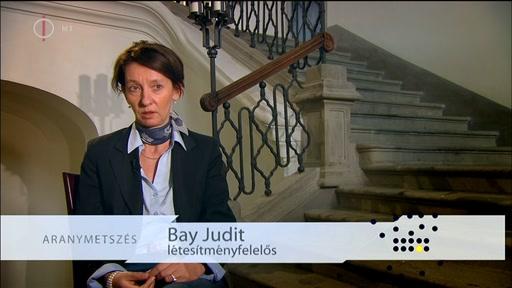 Bay Judit, létesítményfelelős
