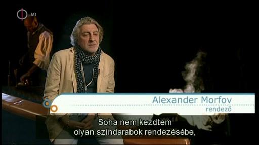 Alexander Morfov, rendező