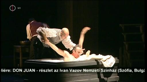 Moliere - Alexander Morfov: Don Juan (Ivan Vazov Nemzeti Színház, Szófia, Bulgária) (színielőadás) (részlet), Budapest 2014-04-01