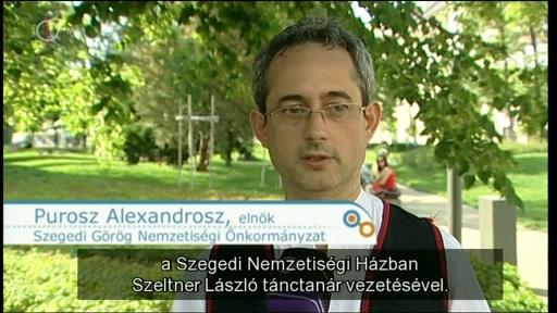 Purosz Alexandrosz, elnök, Szegedi Görög Önkormányzat