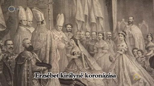 Erzsébet királyné koronázása
