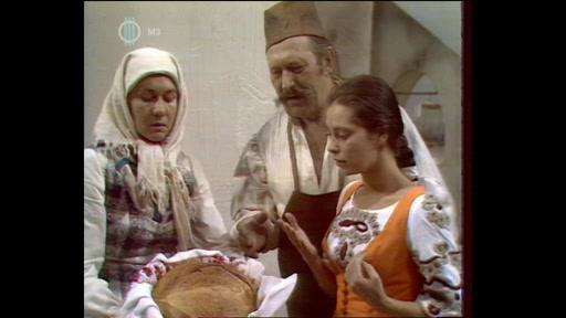 Pauló Lajos: A tűz balladája: A lány, aki maga volt a tűz (Bessenyei Ferenc , Venczel Vera) [jobbra]