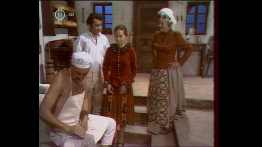 Pauló Lajos: A tűz balladája: A lány, aki maga volt a tűz (Sinkovits Imre, Csíkos Gábor, Venczel Vera, Tolnay Klári)