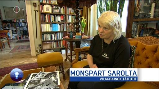 Monspart Sarolta, világbajnok tájfutó