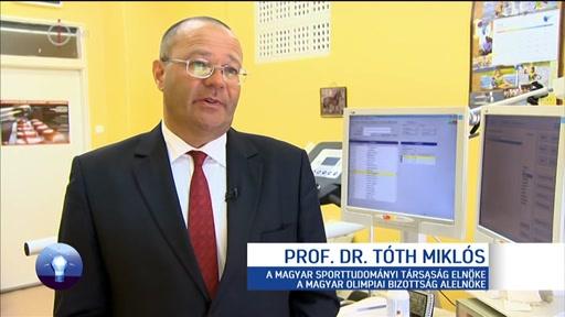 Prof. Dr. Tóth Miklós, elnök, Magyar Sporttudományi Társaság; alelnök, Magyar Olimpiai Bizottság