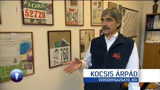 Kocsis Árpád, versenyigazgató, Budapest Sportiroda