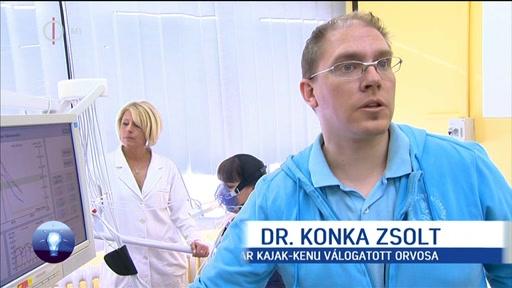 Dr. Komka Zsolt, orvos, magyar kajak-kenu válogatott [!]