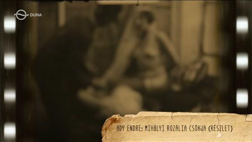 Ady Endre: Mihályi Rozália csókja (részlet)