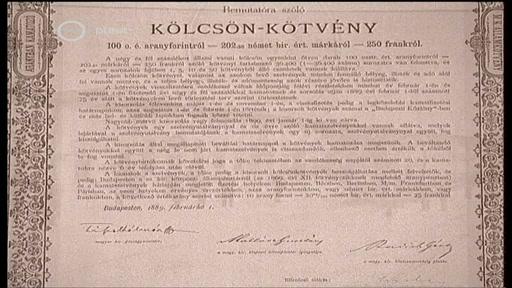 Kölcsönkötvény, 1889