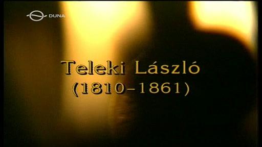 Magyar történelmi arcképcsarnok: Teleki László (1810-1861)
