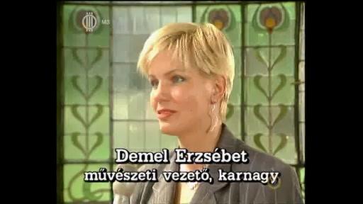 Demel Erzsébet, művészeti vezető, karnagy