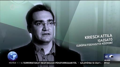 Kriesch Attila, igazgató, Európai Fogyasztói Központ