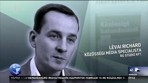 Lévai Richárd, közösségi média specialista, RG Stúdió Kft.
