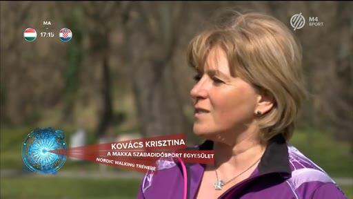 Kovács Krisztina, nordic walking tréner, Makka Szabadidősport Egyesület