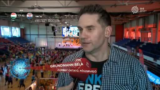 Grundmann Béla, zumbaoktató