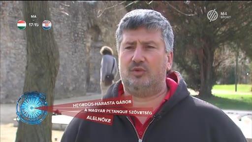 Hegedűs-Harasta Gábor, alelnök, Magyar Petanque Szövetség
