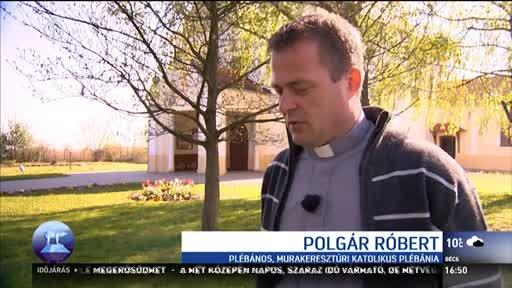Polgár Róbert, plébános, Murakeresztúri Katolikus Plébánia
