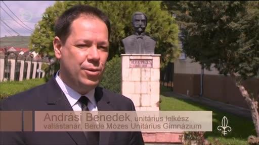 Andrási Benedek, unitárius lelkész, vallástanár, Berde Mózes Unitárius Gimnázium