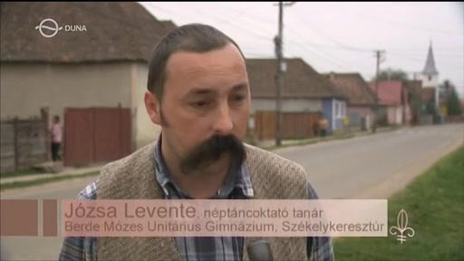 Józsa levente, néptáncoktató tanár, Berde Mózes Unitárius Gimnázium, Székelykeresztúr