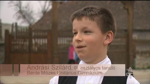 Andrási Szilárd, tanuló, Berde Mózes Unitárius Gimnázium, Székelykeresztúr
