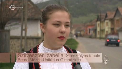 Szilveszter Izabella, tanuló, Berde Mózes Unitárius Gimnázium, Székelykeresztúr
