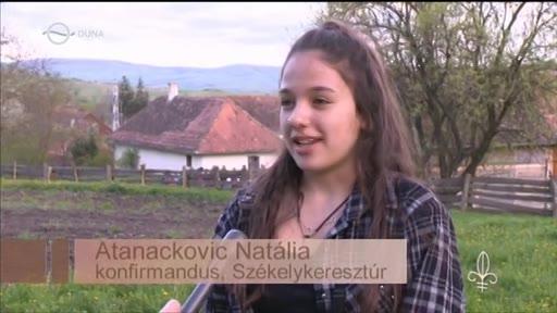 Atanackovic Natália, konfirmandus, Székelykeresztúr