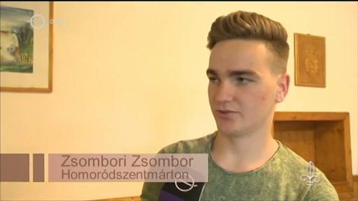 Zsombori Zsombor, Homoródszentmárton