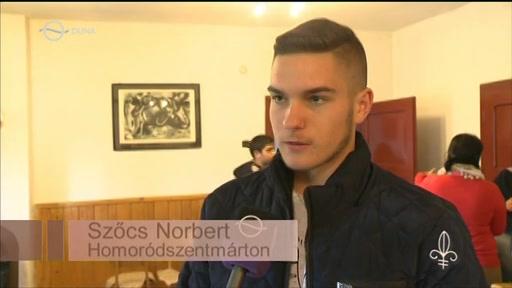 Szőcs Norbert, Homoródszentmárton