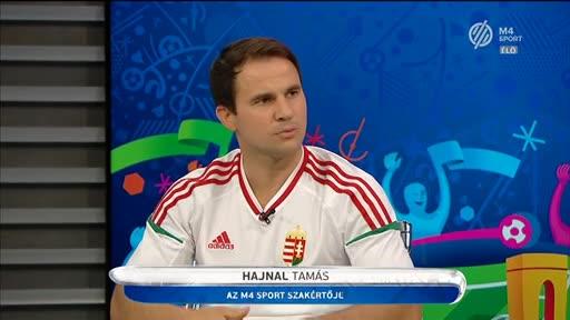 Hajnal Tamás, szakértő, M4 Sport