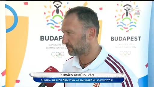 Kovács István, olimpiai bajnok ökölvívó, műsorvezető, M4