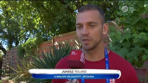 Juhász Roland, válogatott labdarúgó