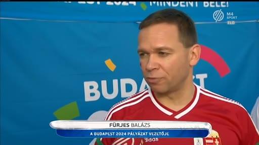 Fürjes Balázs, vezető, Budapest 2024 pályázat