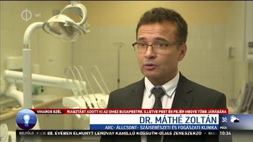 Dr. Máthé Zoltán, igazgató, Semmelweis Egyetem, Arc-, Állcsont, Szájsebészeti és Fogászati Klinika