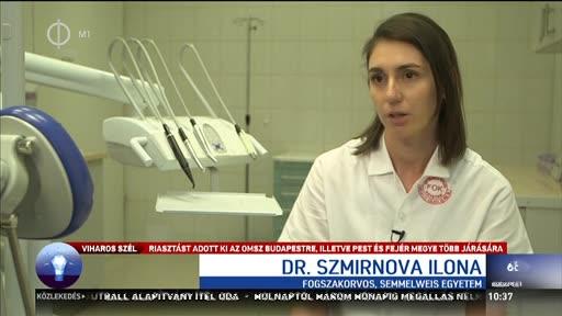 Dr. Szmirnova Ilona, fogszakorvos, Semmelweis Egyetem, Arc-, Állcsont, Szájsebészeti és Fogászati Klinika