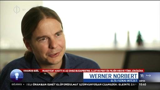 Werner Norbert, asztrofizikus, ELTE Fizikai Intézet