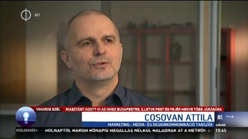 Cosovan Attila, tervezőművész, Budapesti Corvinus EGyetem Marketing és Médiaintézet Marketing-, Média- és Designkommunikáció Tanszék