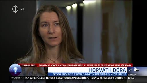 Horváth Dóra, oktató, Budapesti Corvinus Egyetem Marketing és Médiaintézet Marketing-, Média- és Designkommunikáció Tanszék