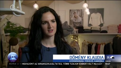 Dömény Klaudia, gyermekruha-tervező, Kamorka