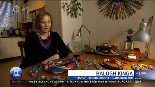 Balogh Kinga, tervező, Cirrhopprecycle Madaboutlamp