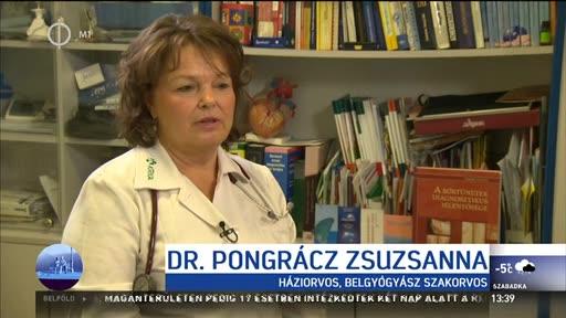 dr. Pongrácz Zsuzsanna, háziorvos, belgyógyász szakorvos